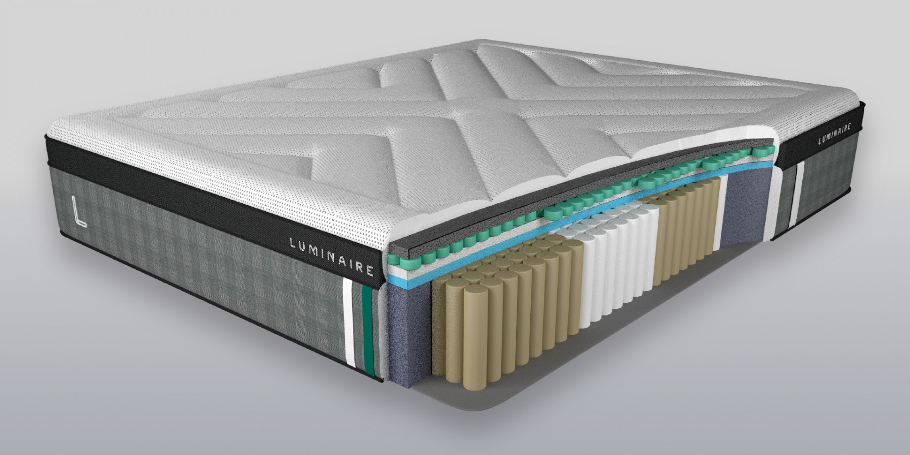 CSB Luminaire Mattress Render