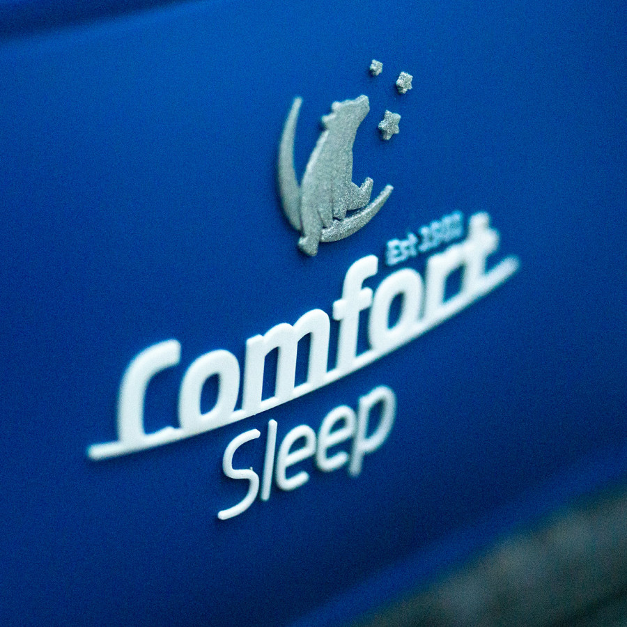Comfort Sleep Mattress Label