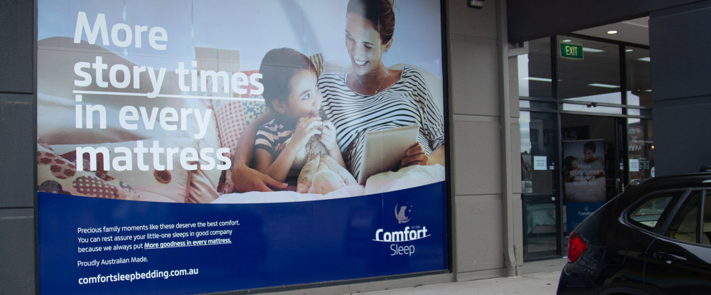 Comfort Sleep Store Point of Sale