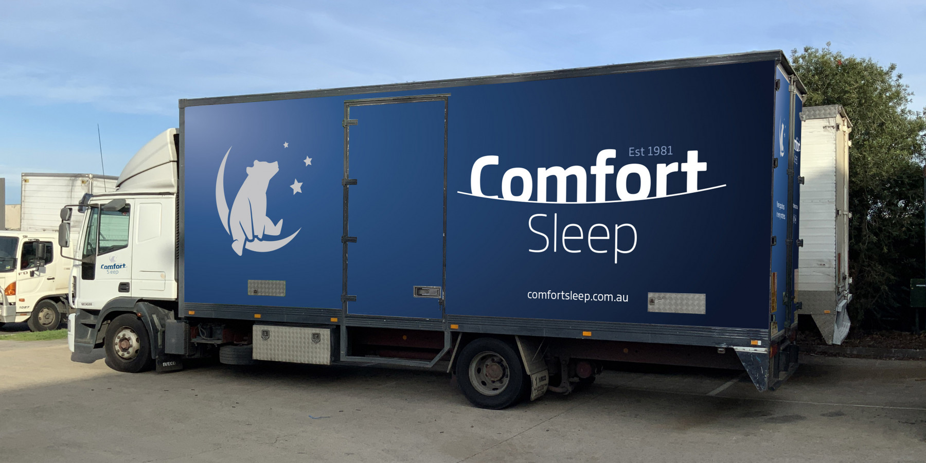 Comfort Sleep Truck Design