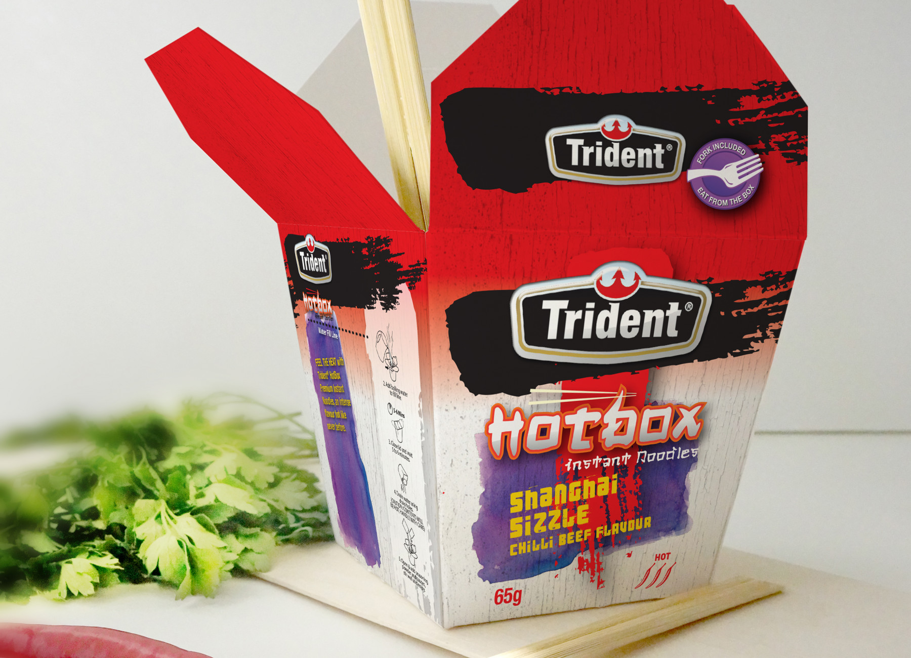 Trident Hotbox 05 Noodle Box