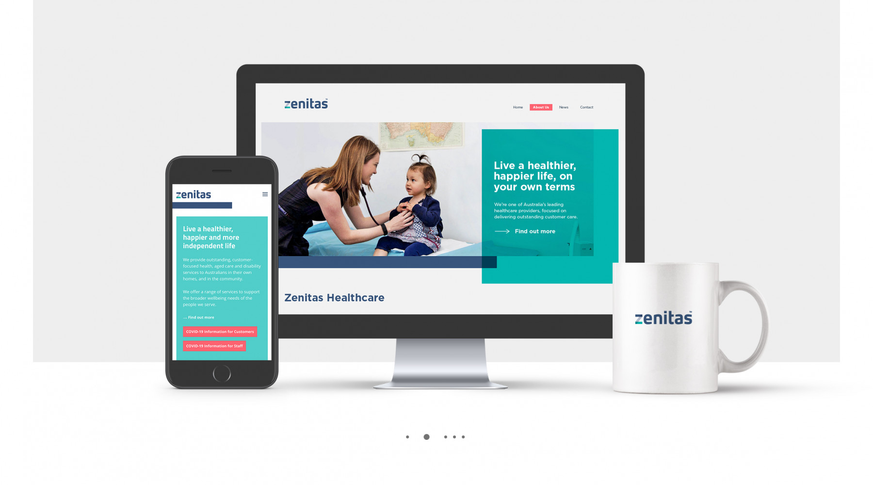 Zenitas Website